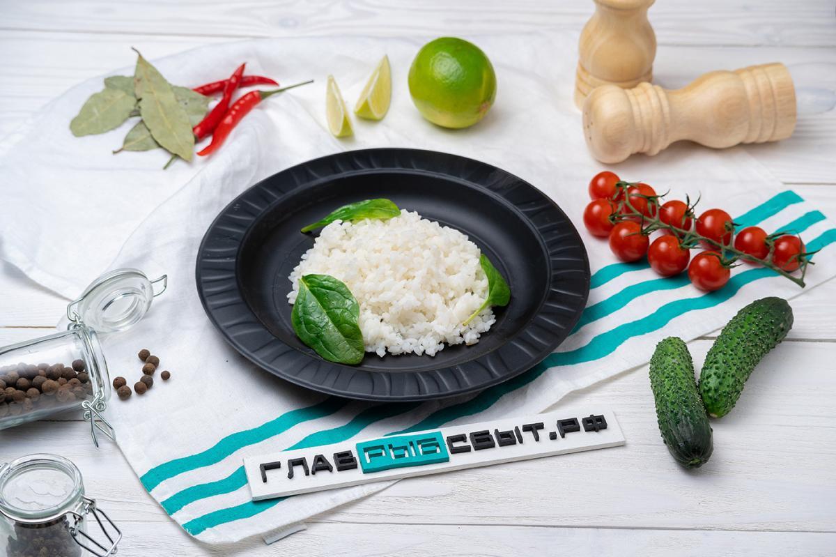 Белый рис 150 грамм